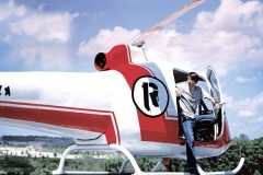 Reza with his Helicopter